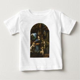 Madonna des roches par Leonardo da Vinci c.1483 T-shirts