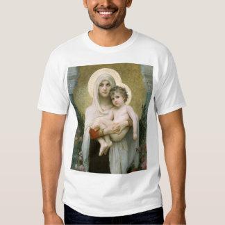 Madonna des roses FONCÉS T-shirts