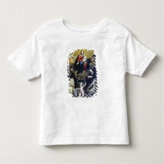 Madonna du chapelet avec solides solubles t-shirt pour les tous petits