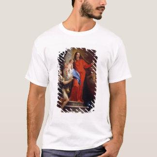 Madonna du chapelet (huile sur la toile) t-shirt