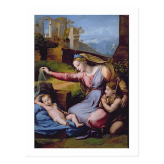 Madonna du diadème bleu ou Madonna de t Cartes Postales