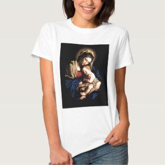 Madonna et chemise de coutume d'enfant t-shirts