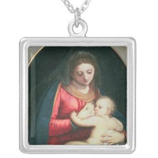 Madonna et enfant, 1598 pendentif carré