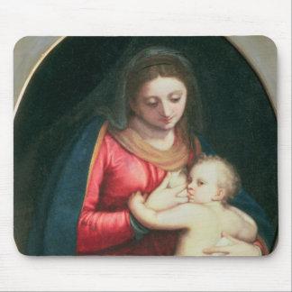 Madonna et enfant, 1598 tapis de souris
