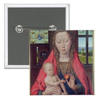 Madonna et enfant 2 badges