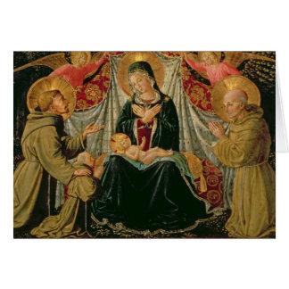 Madonna et enfant 2 cartes