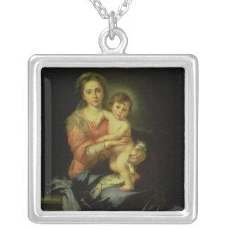 Madonna et enfant, après 1638 pendentif carré