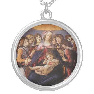 Madonna et enfant avec des anges par Sandro Bijouterie