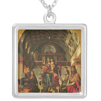 Madonna et enfant avec des saints, 1499 pendentif carré