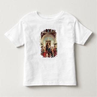 Madonna et enfant avec des saints t-shirt pour les tous petits
