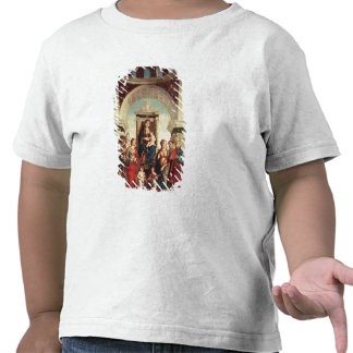 Madonna et enfant avec des saints t-shirt