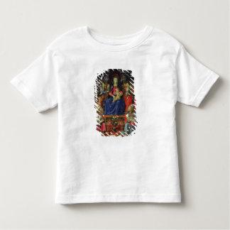 Madonna et enfant avec des solides solubles. t-shirt pour les tous petits