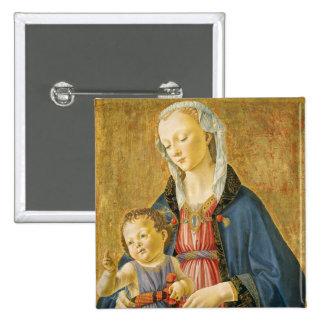 Madonna et enfant avec deux donateurs, 1525-1530 badge