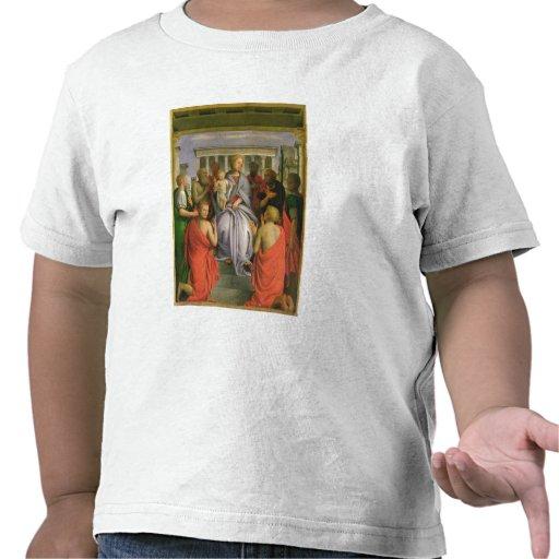 Madonna et enfant avec huit saints, 1520s (humeur t-shirts