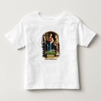 Madonna et enfant avec l'abbé et le St N de St T-shirt Pour Les Tous Petits