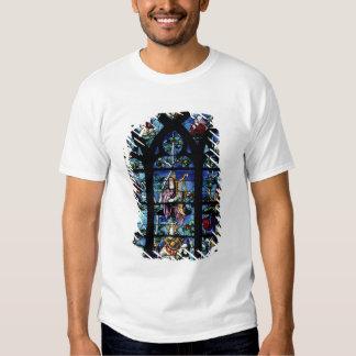 Madonna et enfant avec les anges et le reflec de t-shirts