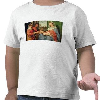Madonna et enfant avec les saints 2 t-shirt