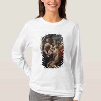 Madonna et enfant avec les saints, c.1529 (huile t-shirt