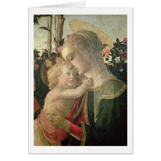 Madonna et enfant avec St John le baptiste, detai Cartes