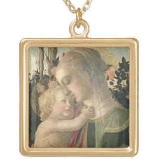 Madonna et enfant avec St John le baptiste, detai Pendentif Carré