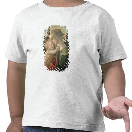 Madonna et enfant avec St John le baptiste, detai T-shirt