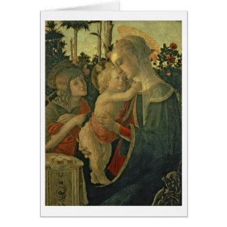 Madonna et enfant avec St John le baptiste (huile Cartes
