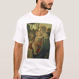 Madonna et enfant avec St John le baptiste (huile T-shirt