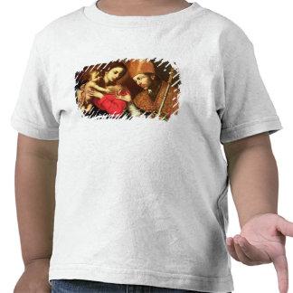 Madonna et enfant avec St Zenobius T-shirts