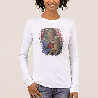 Madonna et enfant, c.1430 (tempera sur le panneau) t-shirt à manches longues
