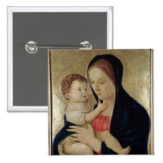 Madonna et enfant, c.1475 badge