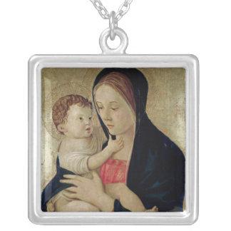 Madonna et enfant, c.1475 pendentif carré