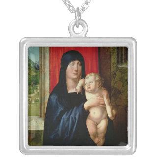 Madonna et enfant, c.1496-99 pendentif carré