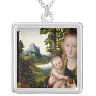 Madonna et enfant, c.1525 pendentif carré