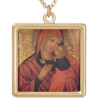 Madonna et enfant, c.1650 (panneau) bijouterie personnalisée