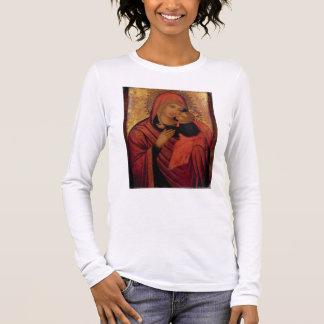 Madonna et enfant, c.1650 (panneau) t-shirt à manches longues