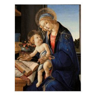 Madonna et enfant cartes postales