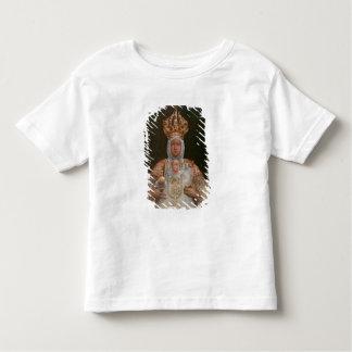 Madonna et enfant, école de Cusco T-shirt Pour Les Tous Petits