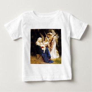Madonna et enfant et trois anges t-shirt