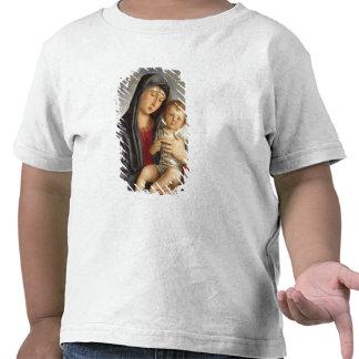 Madonna et enfant (huile sur le panneau) 2 t-shirt