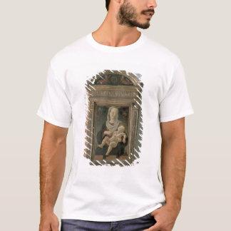 Madonna et enfant (huile sur le panneau) t-shirt