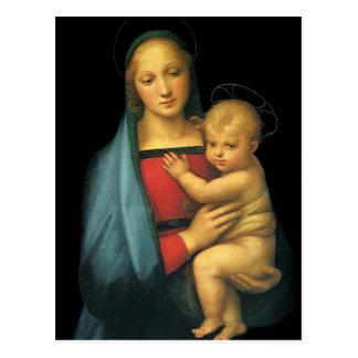 Madonna et enfant, Madonna del Granduca par Carte Postale