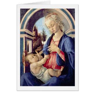 Madonna et enfant (panneau) 2 cartes