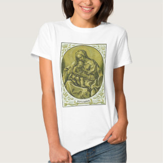 Madonna et enfant par Bartolommeo Coriolano T-shirts
