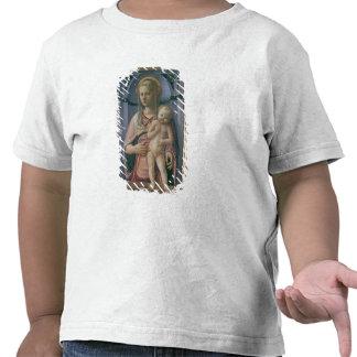 Madonna et enfant (tempera sur le panneau) t-shirt