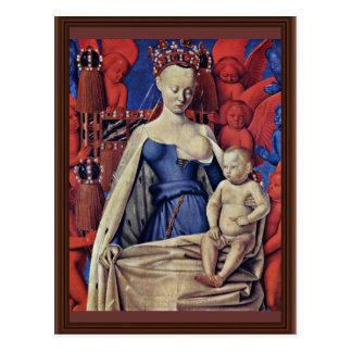 Madonna et enfant [Vierge avec l'enfant et les Carte Postale