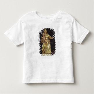 Madonna et enfant, XVIIème siècle (bois doré) T-shirt Pour Les Tous Petits