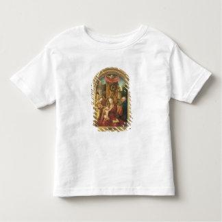 Madonna et l'enfant couronnés t-shirt