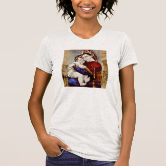Madonna et T-shirt d'enfant