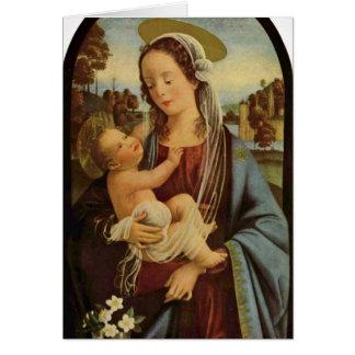 Madonna par Domenico Ghirlandaio Cartes