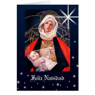 Madonna par Marianne charge. Cartes de Noël de